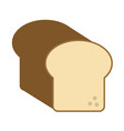 bread loaf icon image vector image vector image