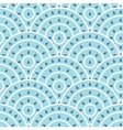Circle With Water Drop Shape Seamless vector image vector image