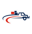 delivery product transportation vector image