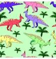 Dinosaur seamless vector image