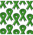 ribbon campaign pattern background vector image