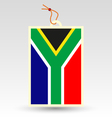 south african made in tag vector image vector image