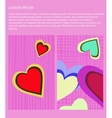 St Valentines card vector image vector image