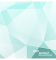 Abstract Blue - Green Geometric Background vector image vector image