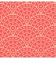 Circle With Star Shape Seamless Pattern vector image vector image