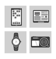 collection devices wearable technology vector image