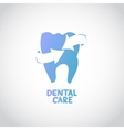 Dental care design concept vector image