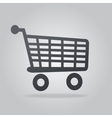 Icon shopping vector image vector image