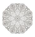 mandala oriental coloring pattern traditional vector image vector image
