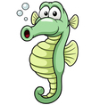 Seahorse vector image vector image
