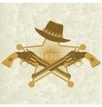 Sheriffs badge-2 vector image vector image