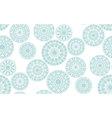 snowflakes 14 vector image