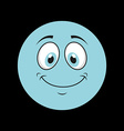 face design vector image