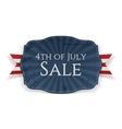 Fourth of July Sale Holiday Banner vector image vector image