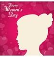 Happy womens day design vector image vector image