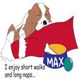 Short Walks vector image vector image