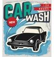 vintage retro wash car
