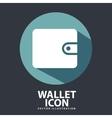 wallet design vector image