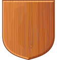 wooden plaque vector image vector image