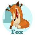 ABC Cartoon Fox2 vector image