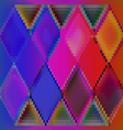Background abstract colorful cubes vector image vector image