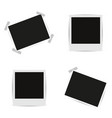 collection blank photo frames vector image