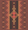 ethnic seamless pattern aztec native american vector image vector image