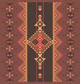 ethnic seamless pattern aztec native american vector image