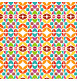 geometric abstract background design vector image vector image