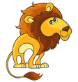 Lion Cartoon african wild animal character vector image vector image