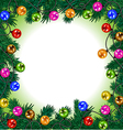 Merry Christmas and a happy New year Festive vector image vector image