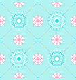 texture with floral ornament vector image