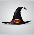 wizard hat vector image