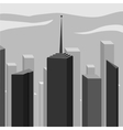 Abstract corporate city skyscraper vector image
