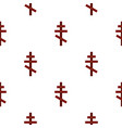 cross pattern flat vector image vector image