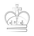 crown ilustration vector image