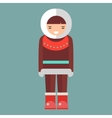 Eskimo vector image vector image