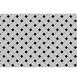 geometric seamless black and white weave pattern vector image vector image