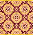 seamless hand drawn mandala pattern for printing vector image
