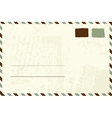 Envelope design with place for your text vector image
