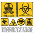 biohazard vector image