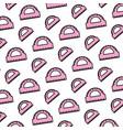 color conveyor ruler school utensil background vector image vector image