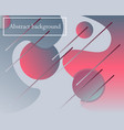 modern artistic background with geometric elements vector image vector image