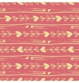 simple seamless hand drawn pattern of vector image vector image
