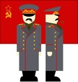 Stalin vector image vector image