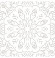 Subtle openwork seamless pattern vector image
