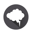 thought bubble icon vector image