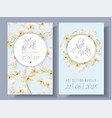 floral orchid banners vector image