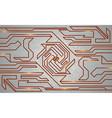 futuristic techno texture vector image