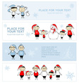 Happy family together christmas holiday banner vector | Price: 1 Credit (USD $1)